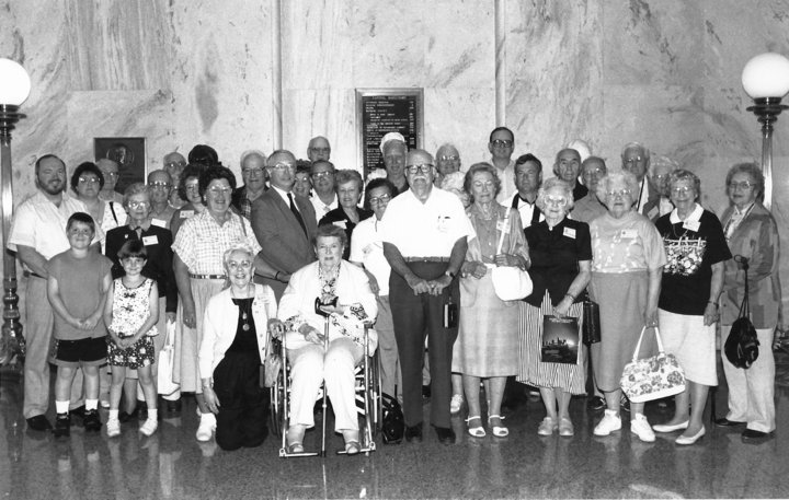 1992 OFHS Meeting (Photo taken at the Kentucky State Capital Building in Lexington, KY