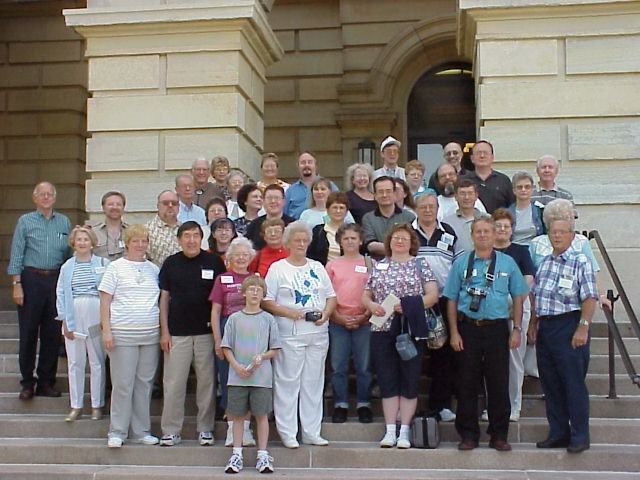 2000 OFHS meeting (Photo taken at the State Capital Building in Springfield, Illinois