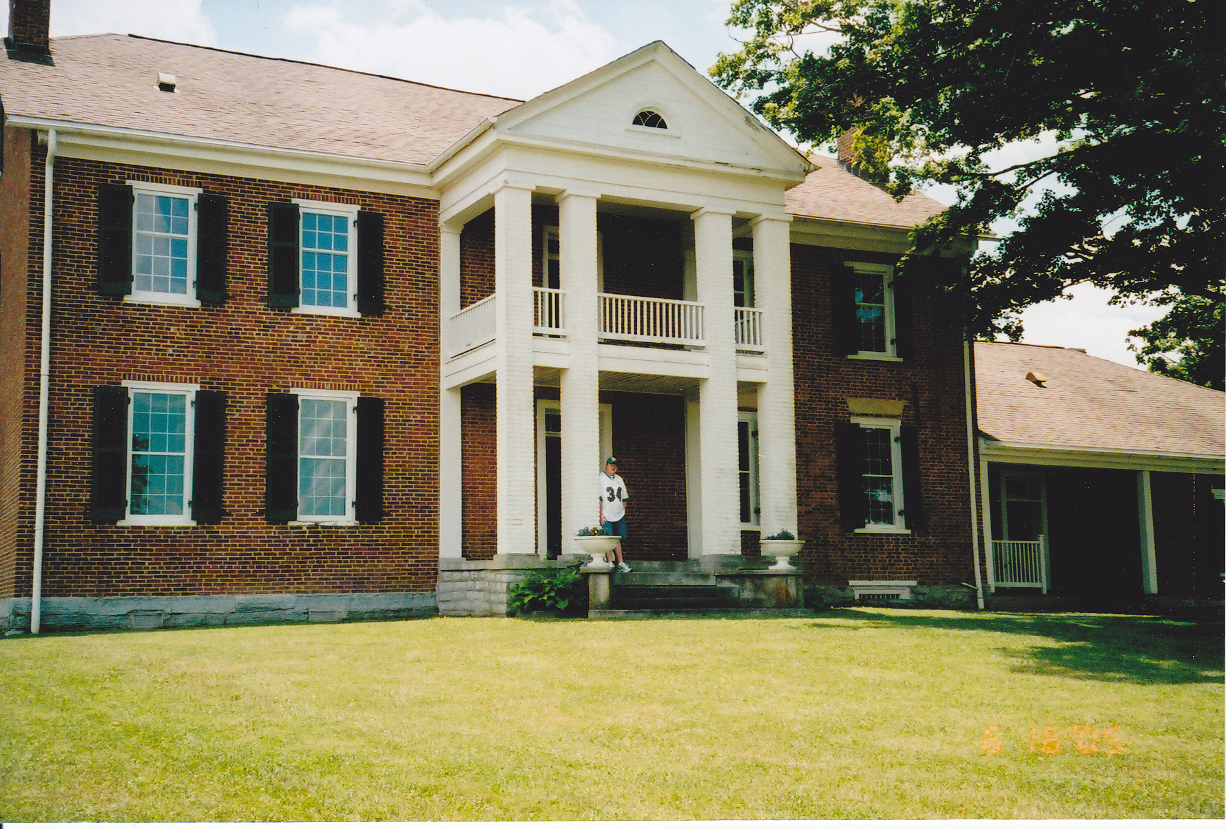 2005 Photo of Pleasant Retreat - Governor William Owsley House in Lancaster, KY