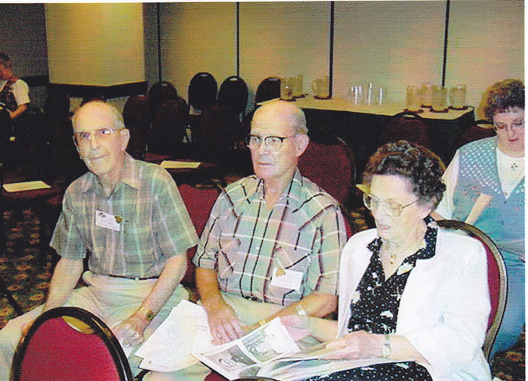 2001 OFHS meeting in Grapevine, TX - Dee Owsley, Hoyt Owsley, and Margaret Owsley