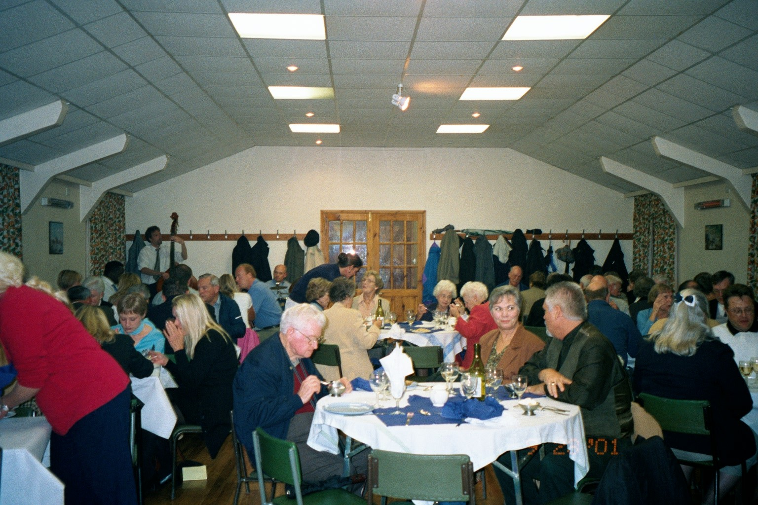 2001 OFHS England Tour - Glooston Church Dinner